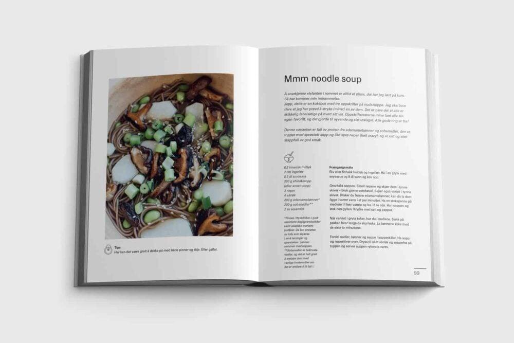 Mmm noodle soup fra boken Sykt enkelt