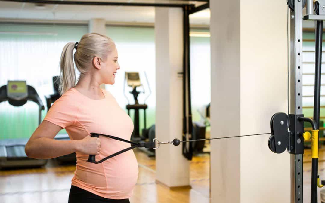 – Kan jeg trene når jeg er gravid?