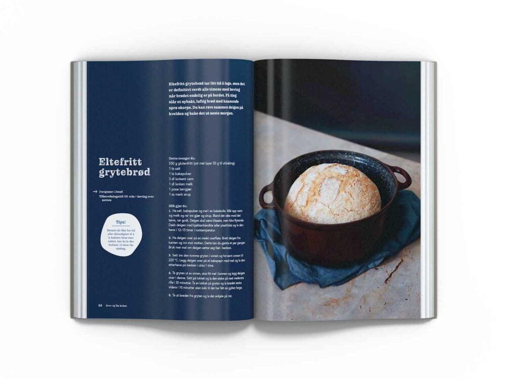 Den store glutenfrie bakeboka – Eltefritt grytebrød