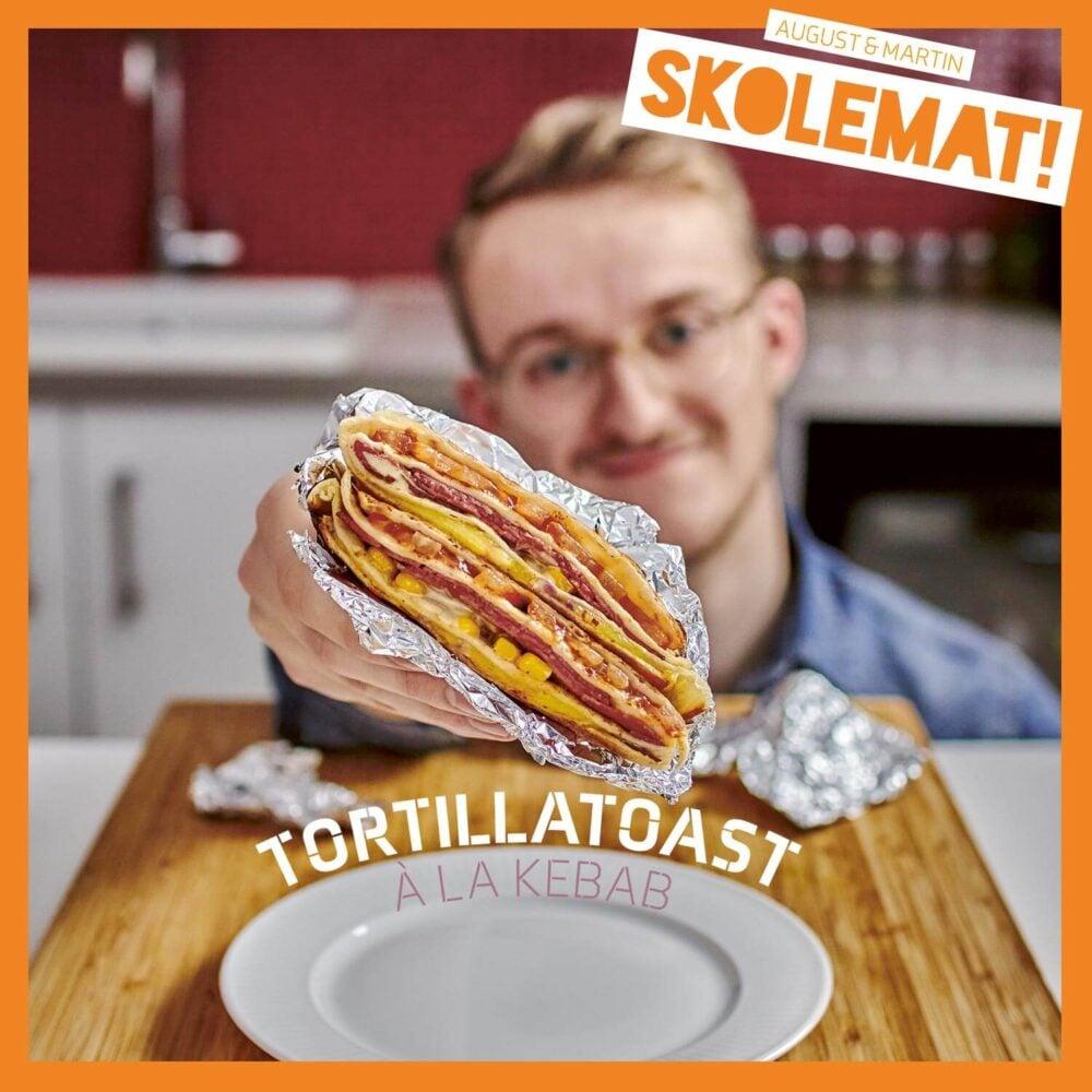 Tortillatoast fra «Skolemat!»