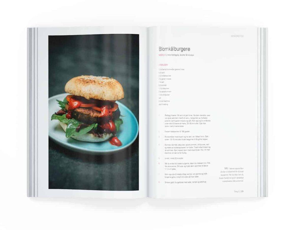 Blomkålburgere, fra boken Sykt godt av Mari Hult