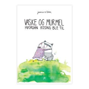 Bilde av barneboken Vaske og Murmel – Hvordan kosing ble til