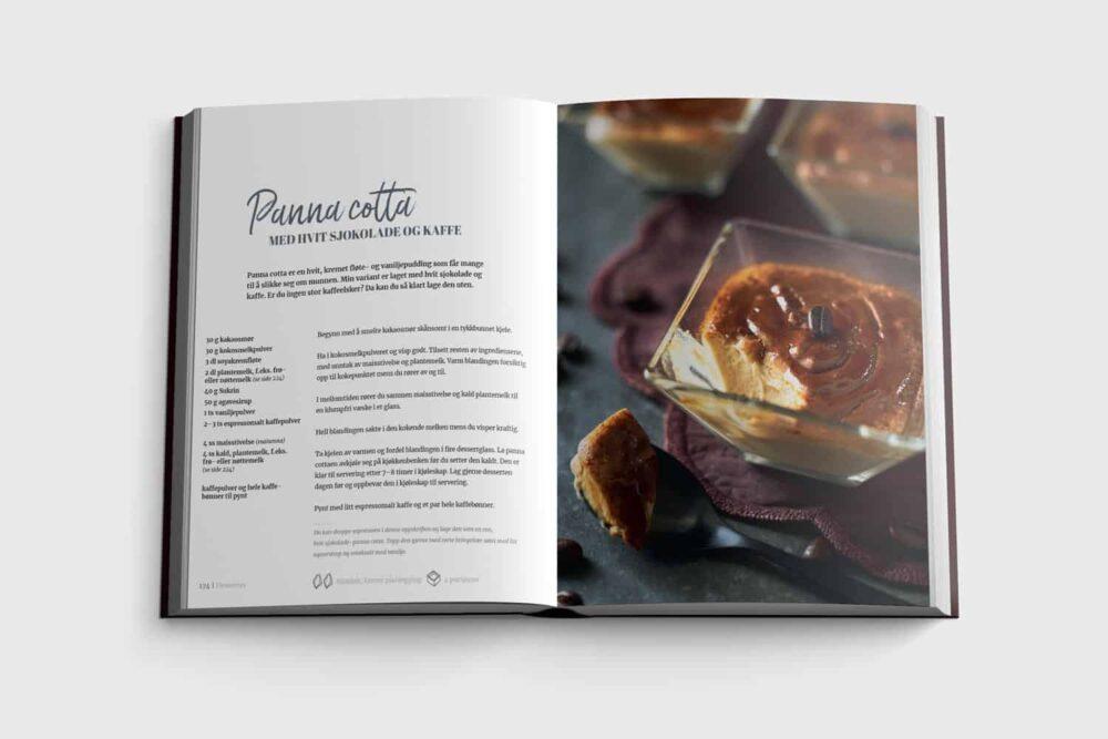 Panna cotta fra boken Sunn sjokolade