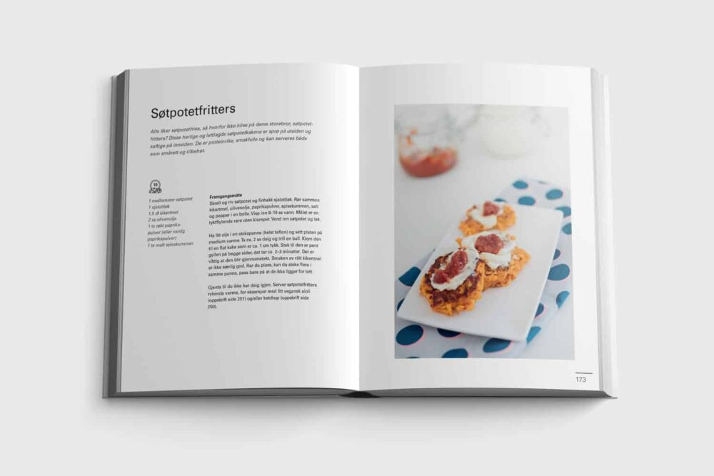Søtpotetfritters fra boken Sykt enkelt