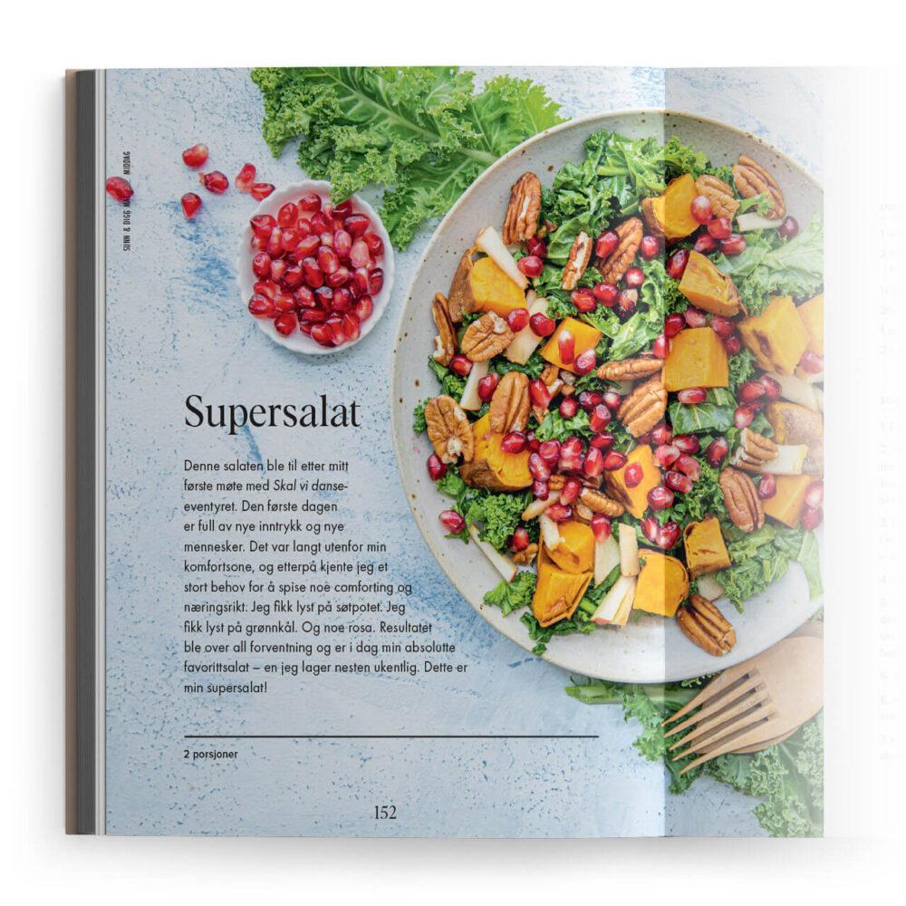 Emilie Nereng – Sunt og digg: Supersalat