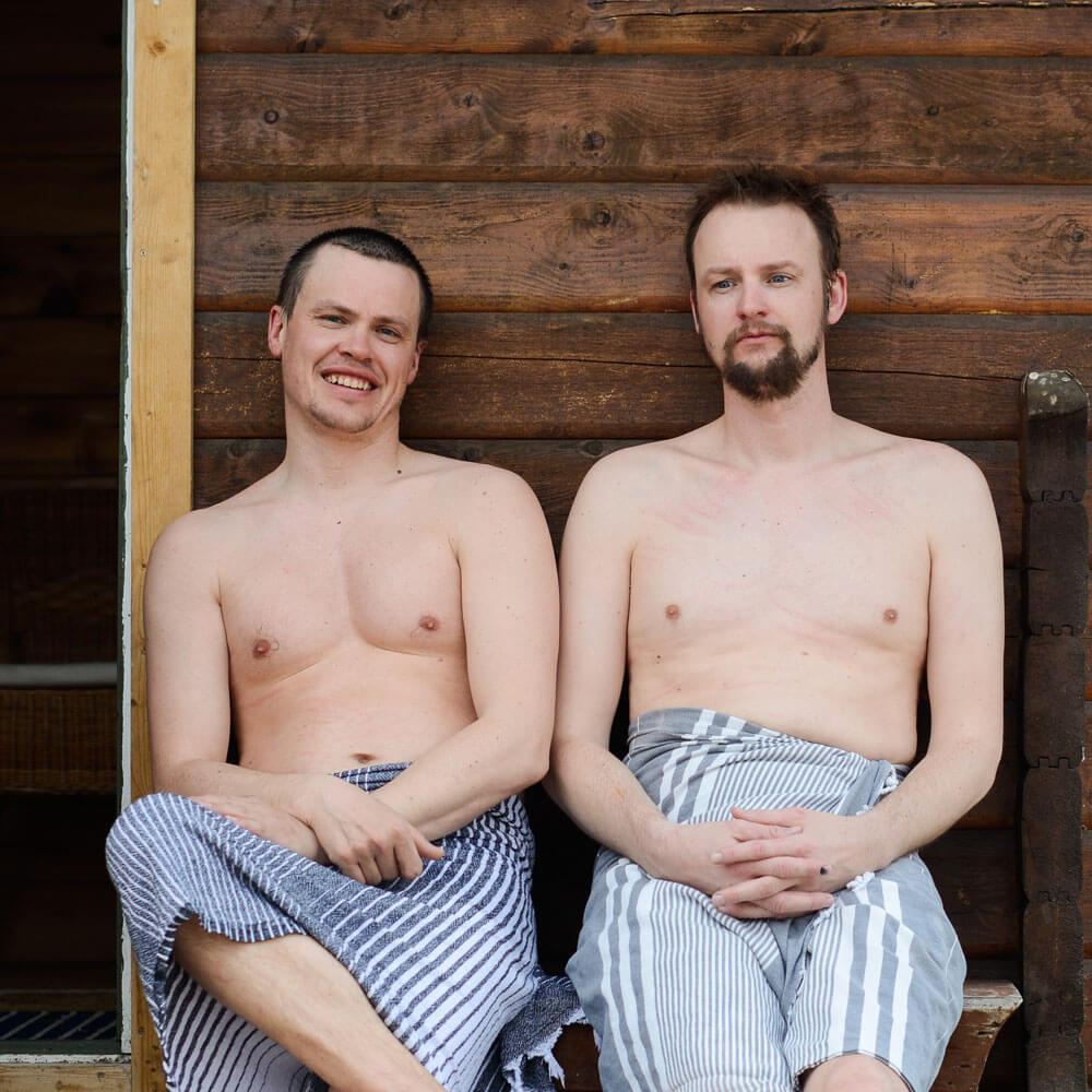 Hallgrim Rogn og Knut Lerhol